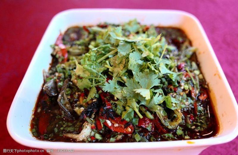 传统美食 凉拌茄子图片