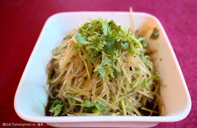 传统美食 笋丝图片