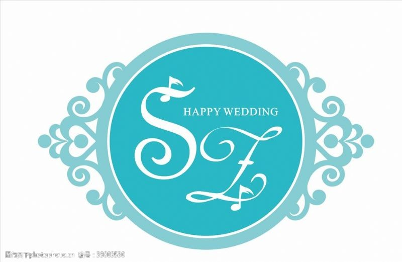 蒂芙尼蓝婚礼 SZ婚礼牌图片