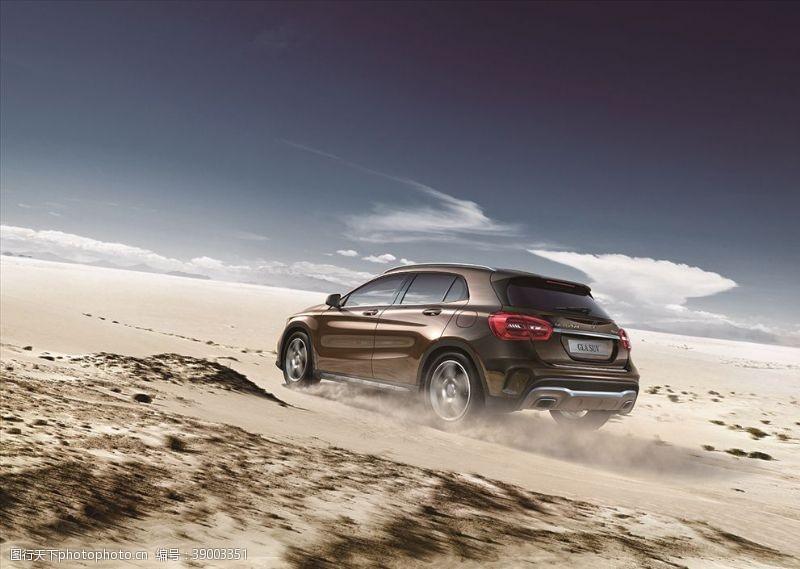 奔驰汽车 大漠孤巡图片