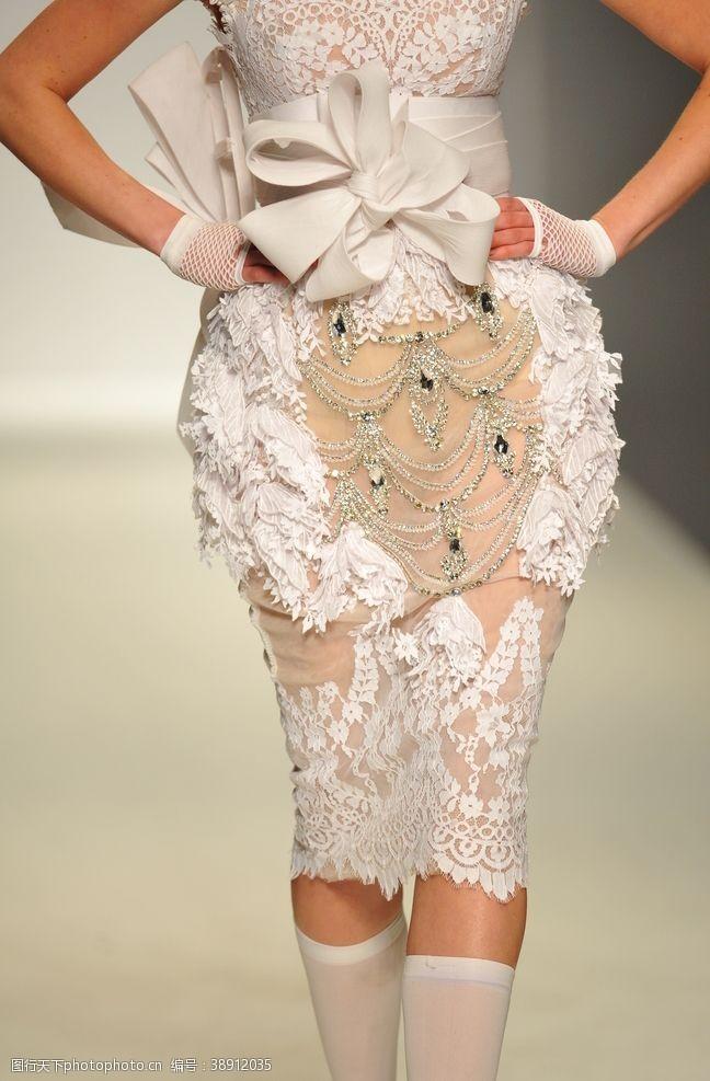 时尚模特服装珠宝超模