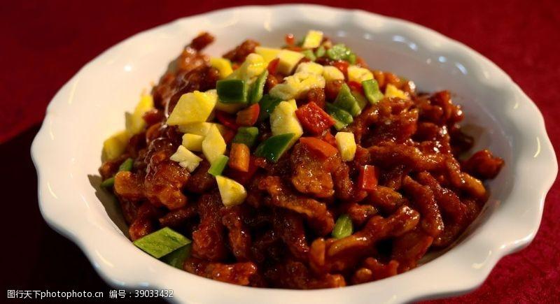 传统美食 咕噜肉图片