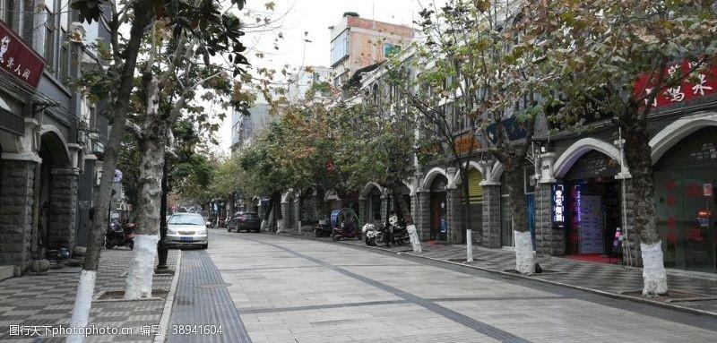 房屋古典建筑 古镇街道风景图片