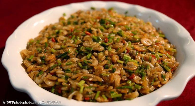 传统美食 河虾图片