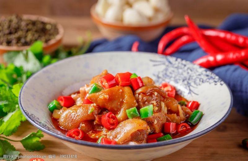 传统美食 红烧蹄膀图片