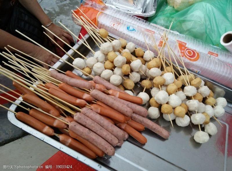 传统美食 火腿图片