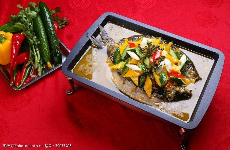 香辣烤鱼 烤鱼图片