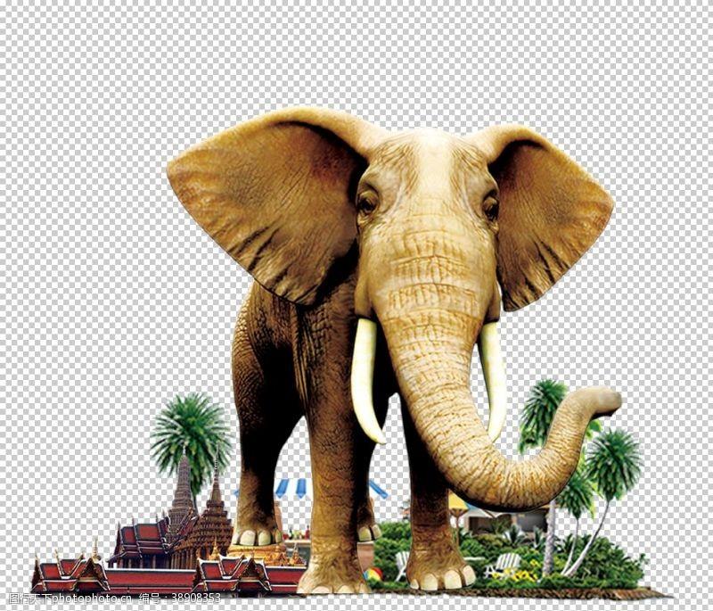旅游展板泰国