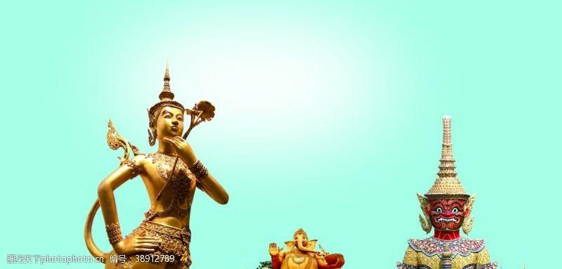 psd泰国雕塑