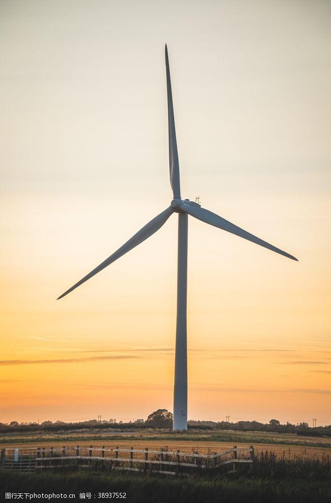 风车群 风车图片