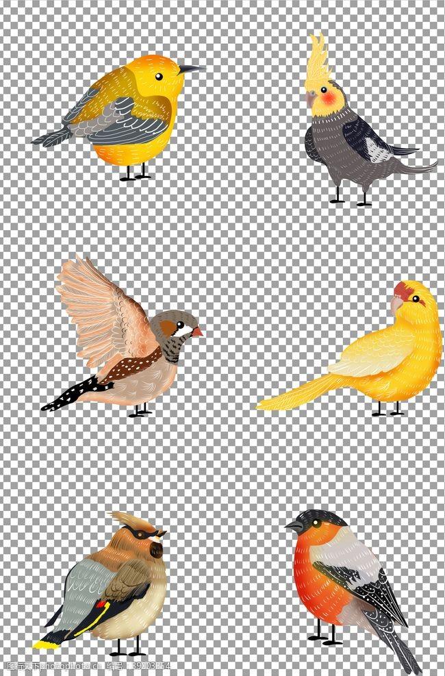 可爱小鸟 卡通鸟儿图片