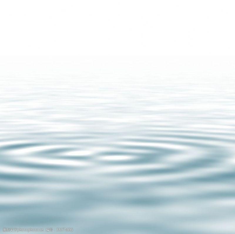 雨点 水波图片