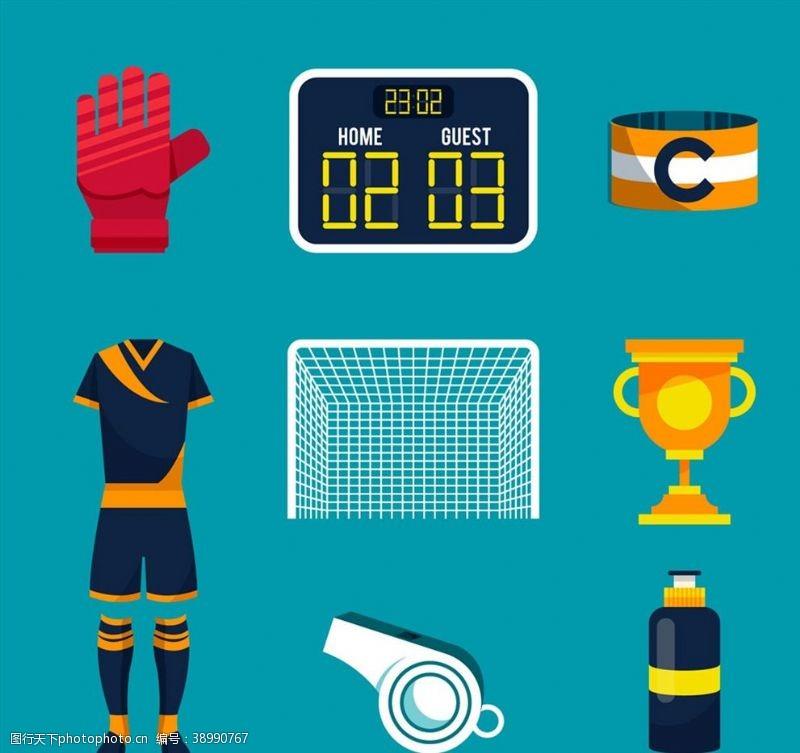 记分 精美足球物品图片