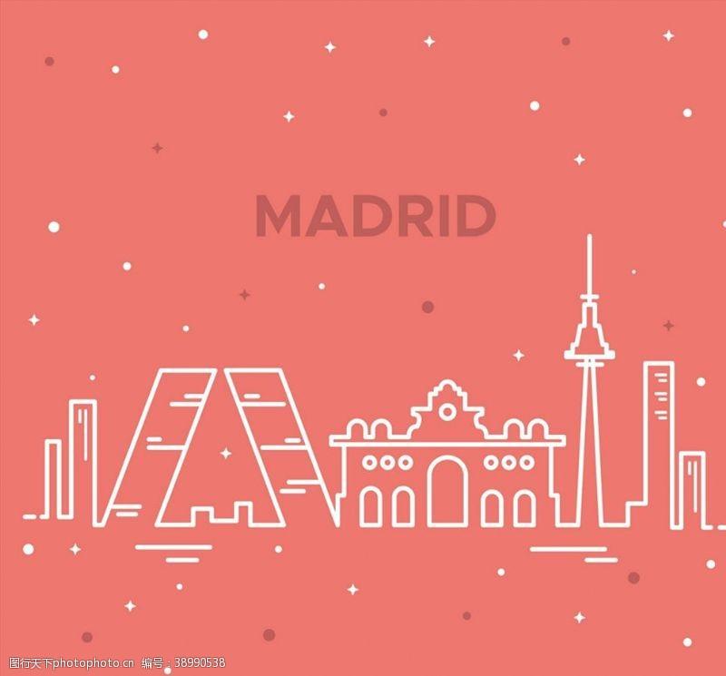 欧洲 马德里著名建筑图片