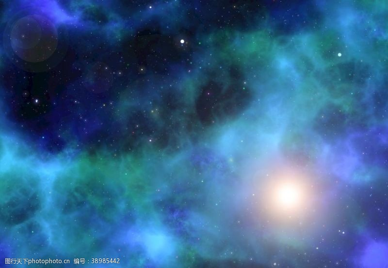 夜晚的天空 星系图片