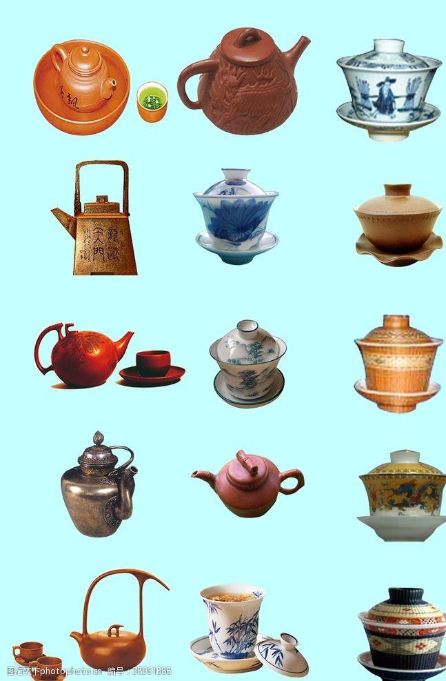 茶壶素材 茶具素材图片