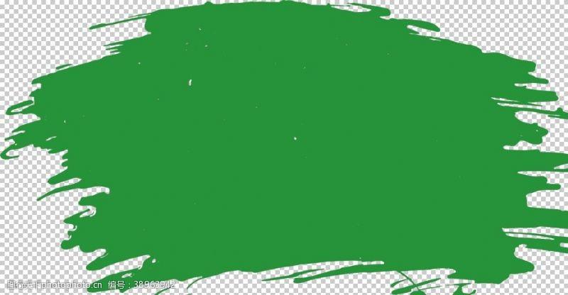 彩色烟雾素材 毛笔刷图片