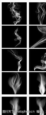 abr 100种烟雾笔刷图片