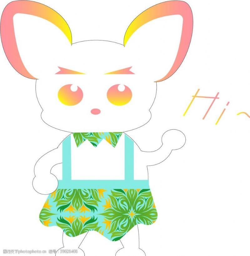 动漫动画 背带裙的洛可图片