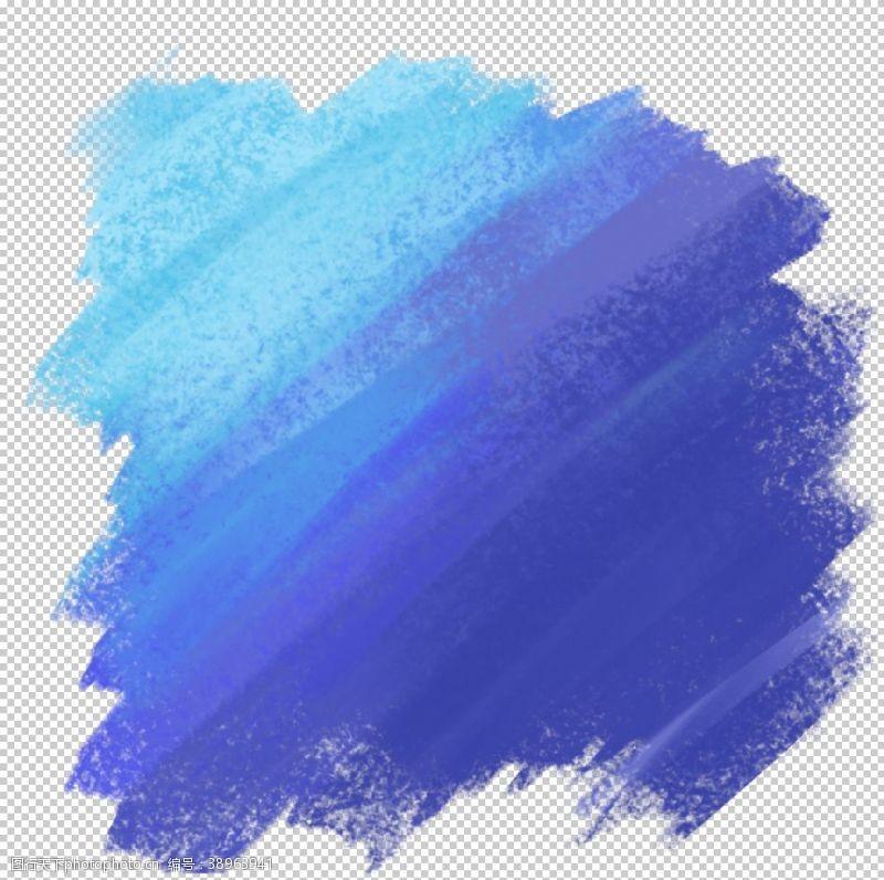 彩色烟雾素材 彩色墨迹图片