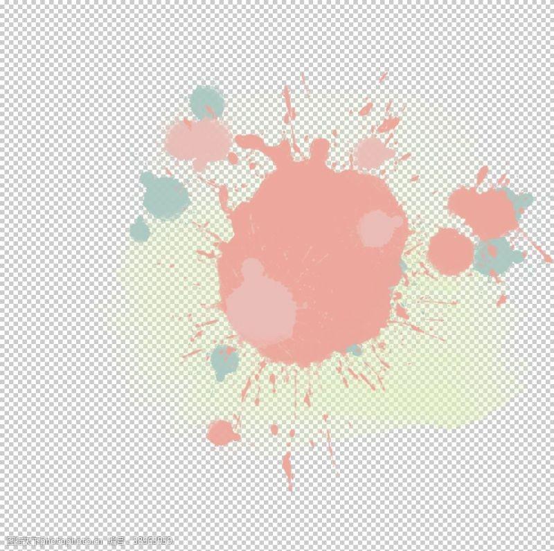 彩色烟雾素材图片