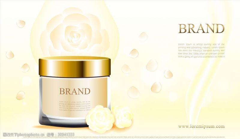 化妆品灯箱 化妆品广告图片