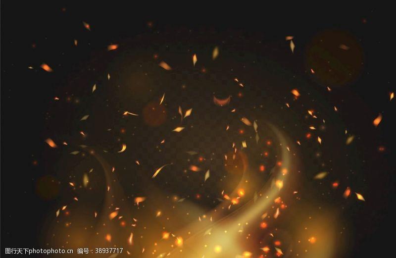 烟花 火焰火苗火圈烟雾图片