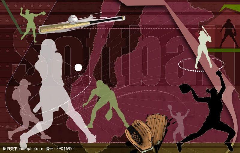 户外运动 健身项目海报图片