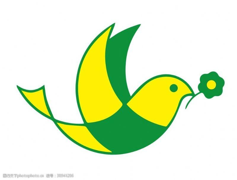 可爱小鸟 卡通手绘小鸟图片