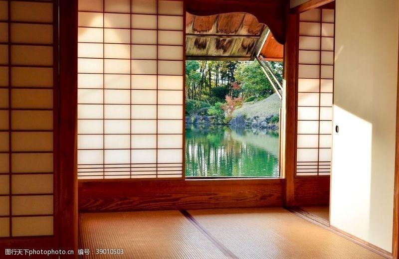 休闲吧 日式房子图片