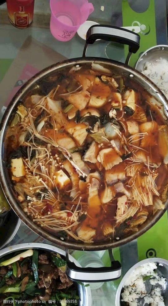 荤菜 水煮鱼图片