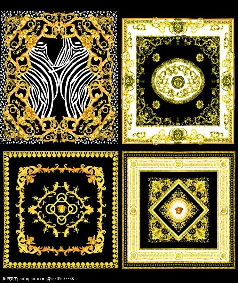 原创设计 方巾图片