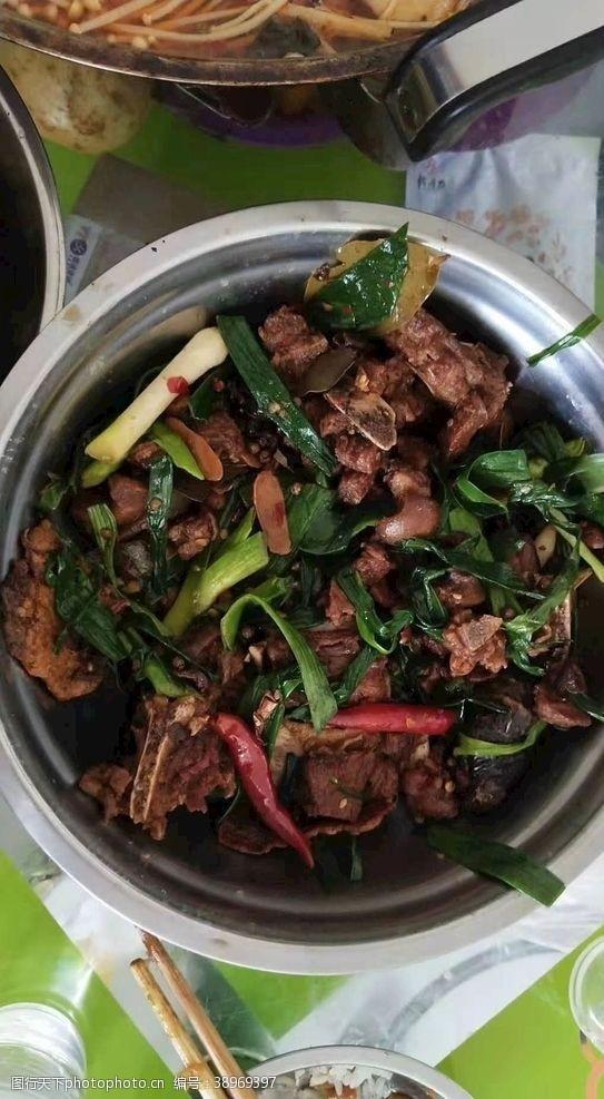 荤菜 干锅羊肉图片