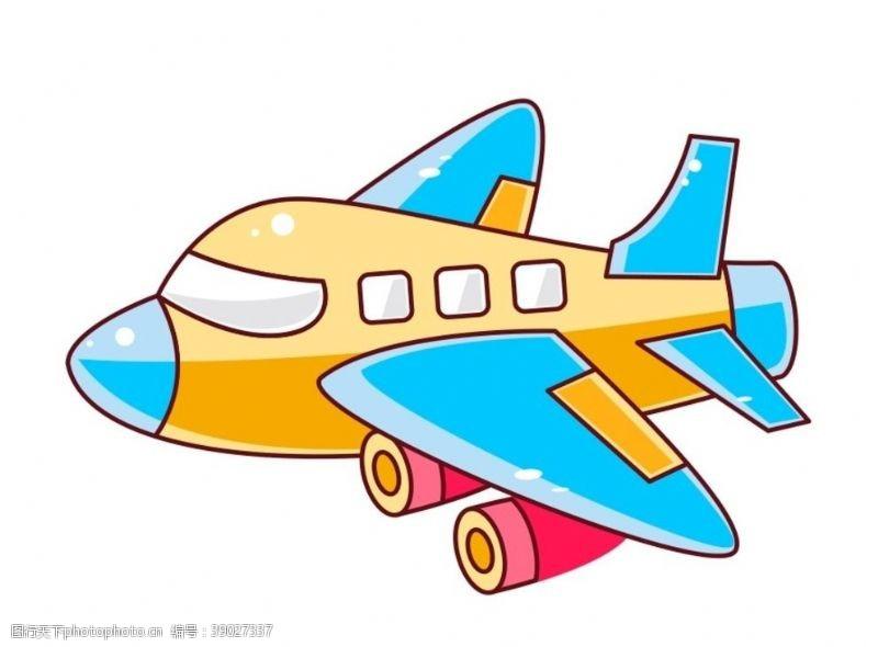 动漫动画 卡通飞机图片