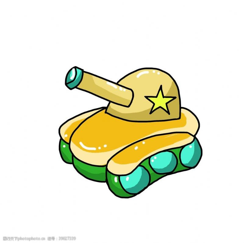 动漫动画 卡通坦克图片