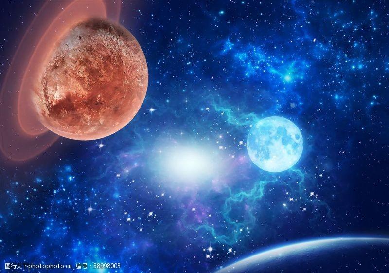 星空夜晚 梦幻唯美星空图片