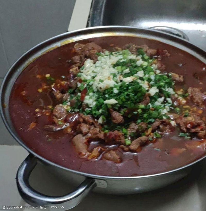 荤菜 水煮牛肉图片