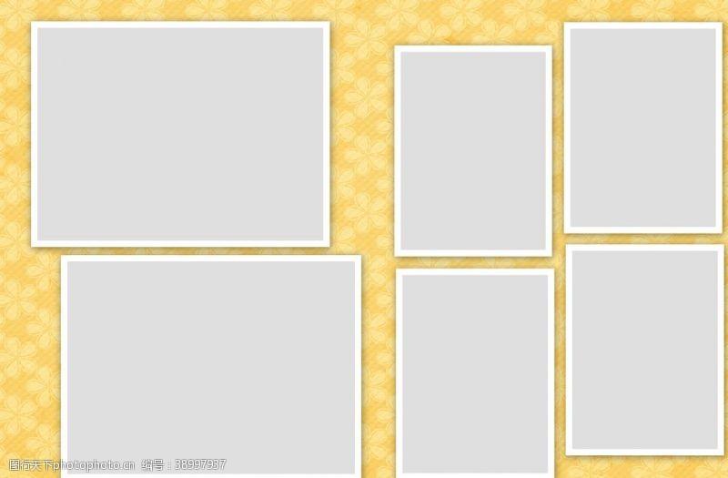 相册设计 相册边框设计模板图片