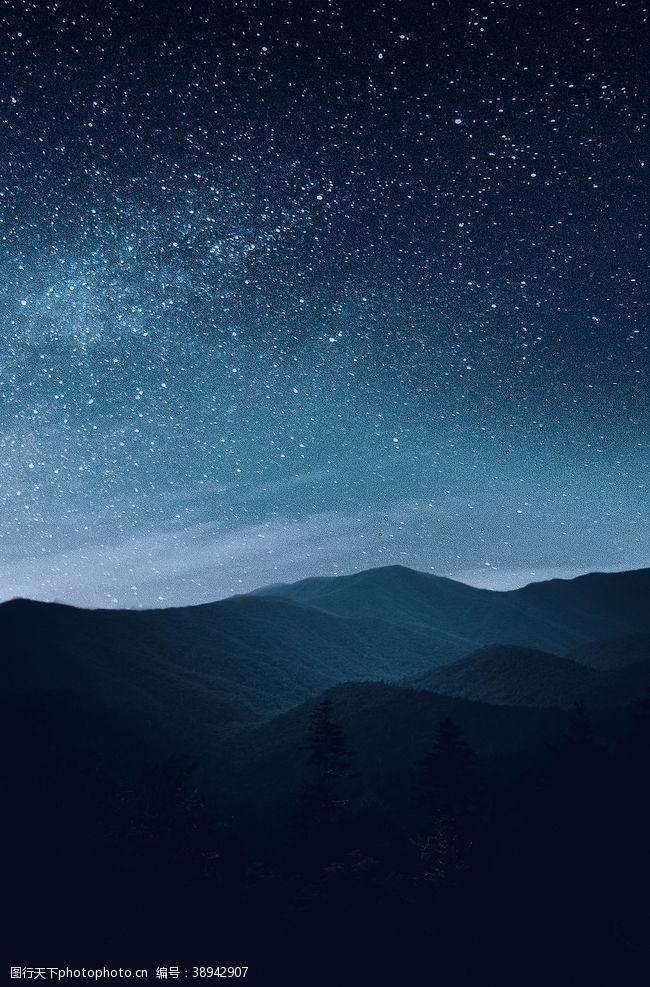 星空夜晚 星空夜晚唯美梦幻图片