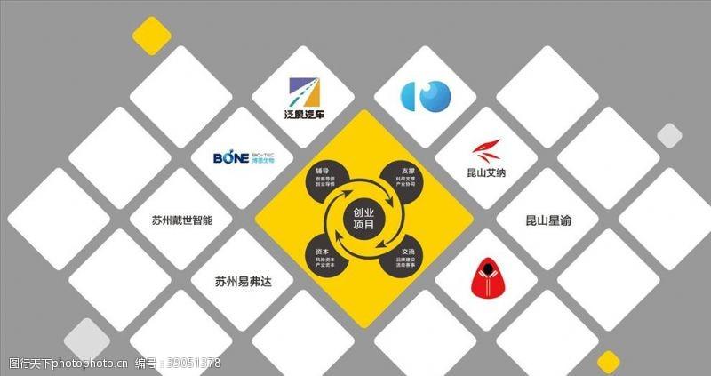 品牌联盟 合作伙伴墙图片