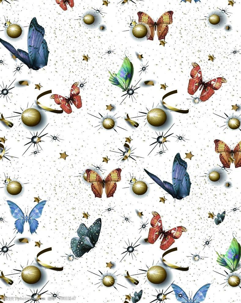 原创设计 蝴蝶图片
