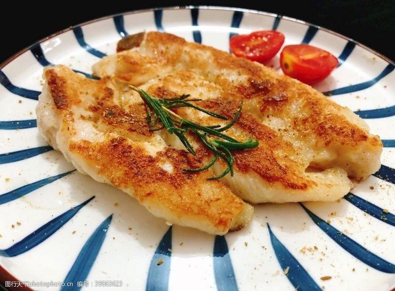 煎鸡排 鸡排鸡胸肉图片