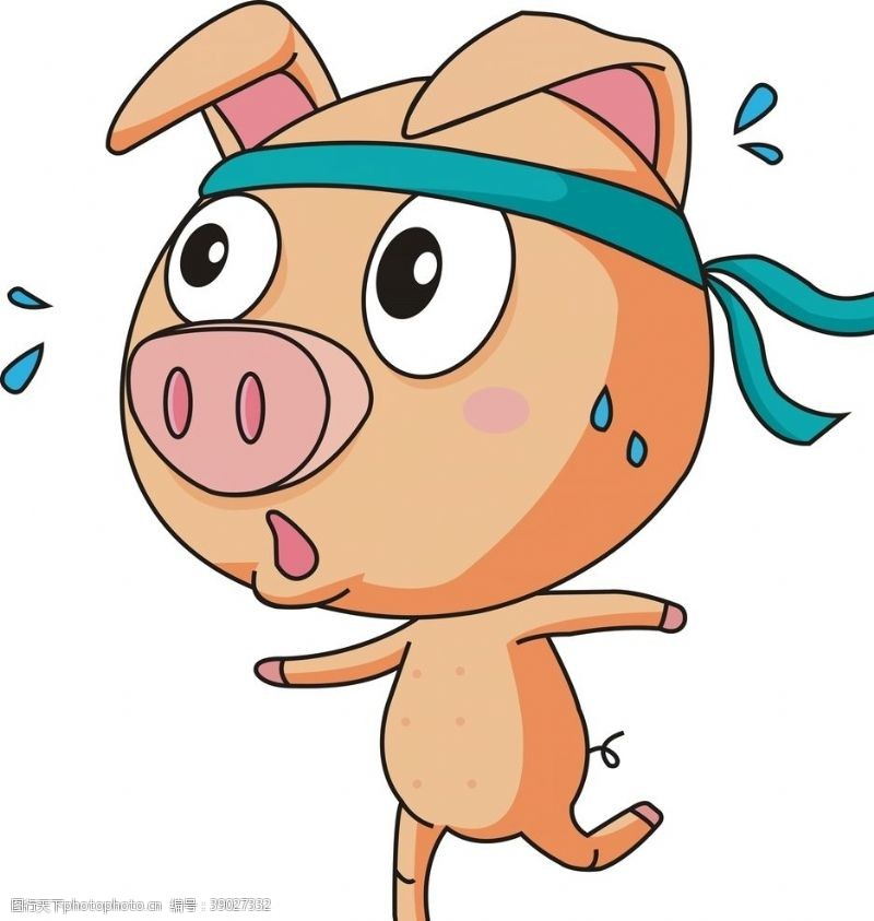 动漫动画 卡通猪图片