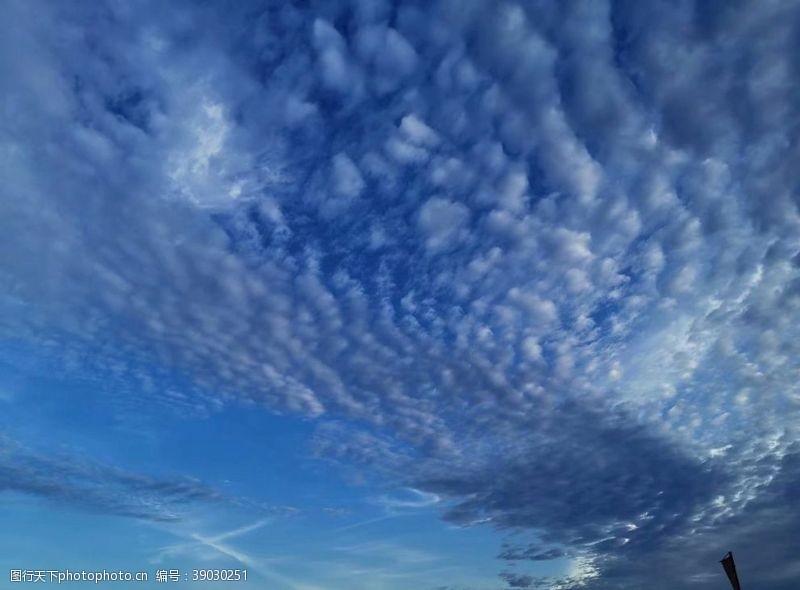环境设计 蓝天白云图片