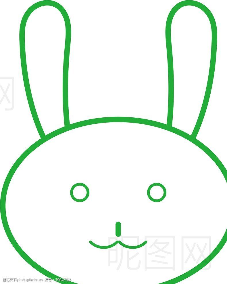 鸽子 兔子图片