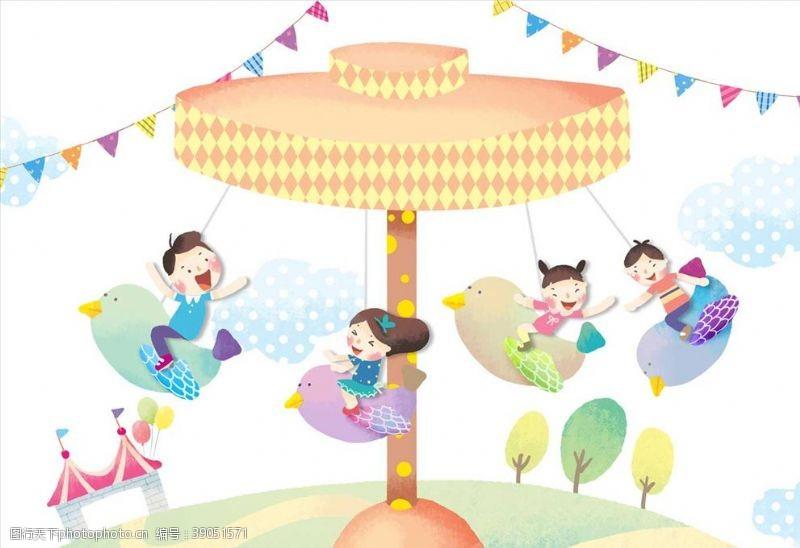 生活人物 儿童乐园图片