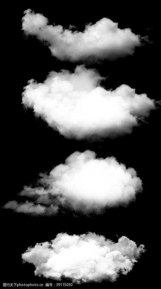 平面 白云图片