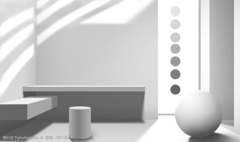 平面 电商海报光影设计素材图片