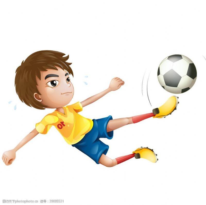 生活人物 儿童运动员图片