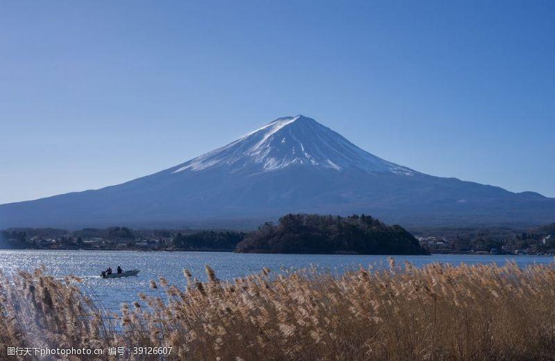 日本风情 富士山图片